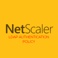 Lab: Part 19 - Configure Active Directory authentication(LDAP) with Citrix NetScaler 11