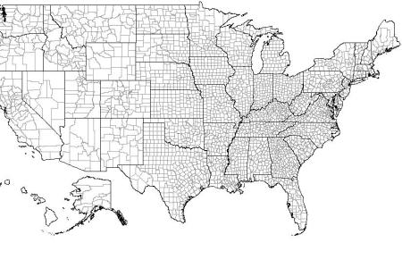 maps united states map counties