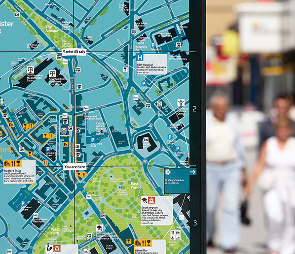 map southampton city centre