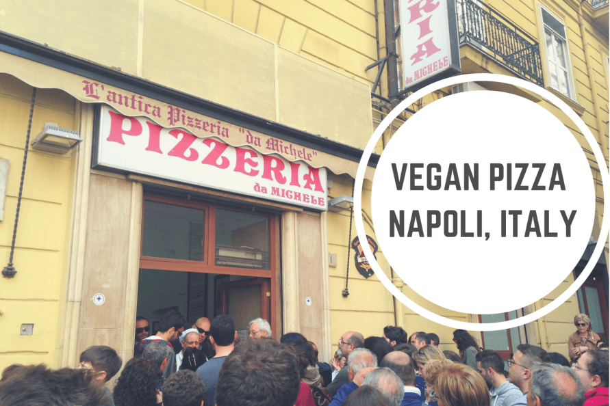 vegan pizza napoli italy