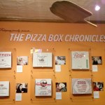 Pizza Box Wall