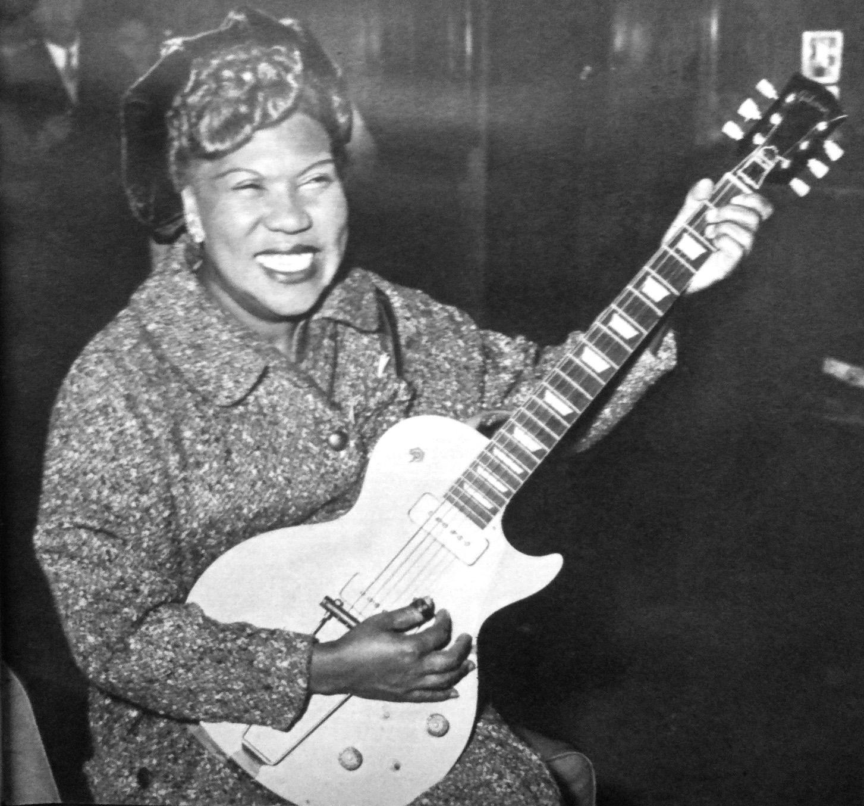 The City Reliquary Celebrates Famous Women Musicians | The ... Rosetta Tharpe