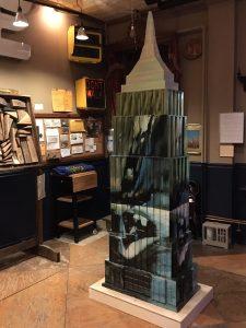 Empire State Building fantasy coffin