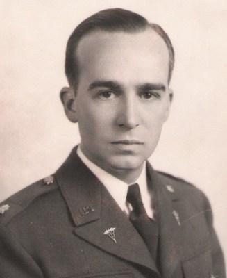 Lt. Col. William Wallace Greene, MD, 1945.