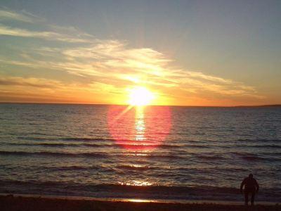 ...se protáhlo do západu slunce...