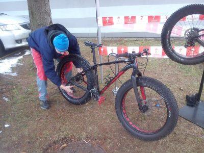 ... kola musela být ve 100% stavu pořád, aby měl každý stejné podmínky ...