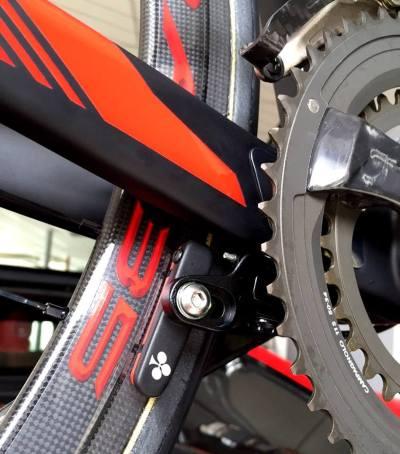 ... rám je určen pro přímou montáž brzd, tedy systém Direct Mount ...