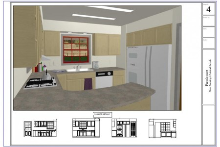 great small kitchen layout plan in 3d view design using room planner software program for best result 936x627