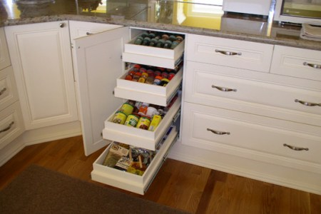 smart kitchen storage design ideas drawers in the cabinet the cone kitchen with marble countertop and wooden floor