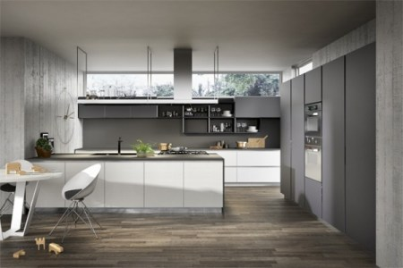 incredible gray white kitchen design used grey and white color decoration ideas used small eating area for home inspiration to your house