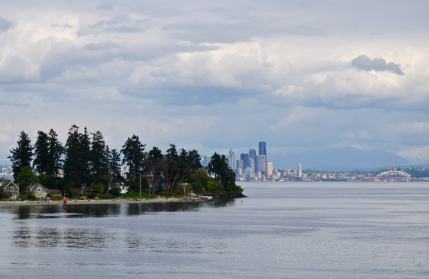Seattle from Bainbridge Island