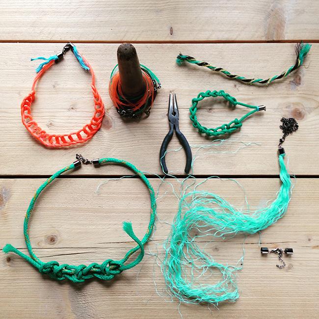 March of the Mermaids 2016 WCA workshop ghost gear jewellery