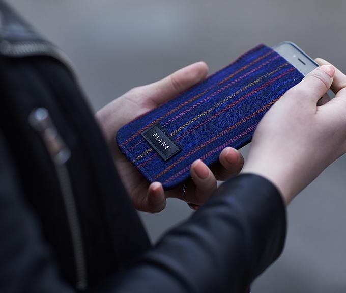 PLANE phone sleeve