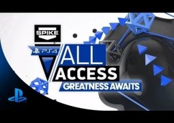 PS4 All Access Greatness Awaits PS4 launch event on November 14