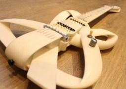 1ª guitarra totamente impressa em 3D no mundo é brasileira