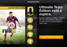 """Com 8 times, demo de """"FIFA 15″ sai nesta terça (09) na PSN, Xbox Live e PC"""