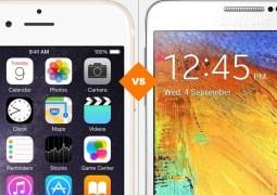 iPhone 6 Plus ou Galaxy Note 4: veja qual dos smarts 'gigantes' atuais é o melhor
