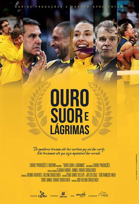 Poster do filme Ouro, Suor e Lágrimas