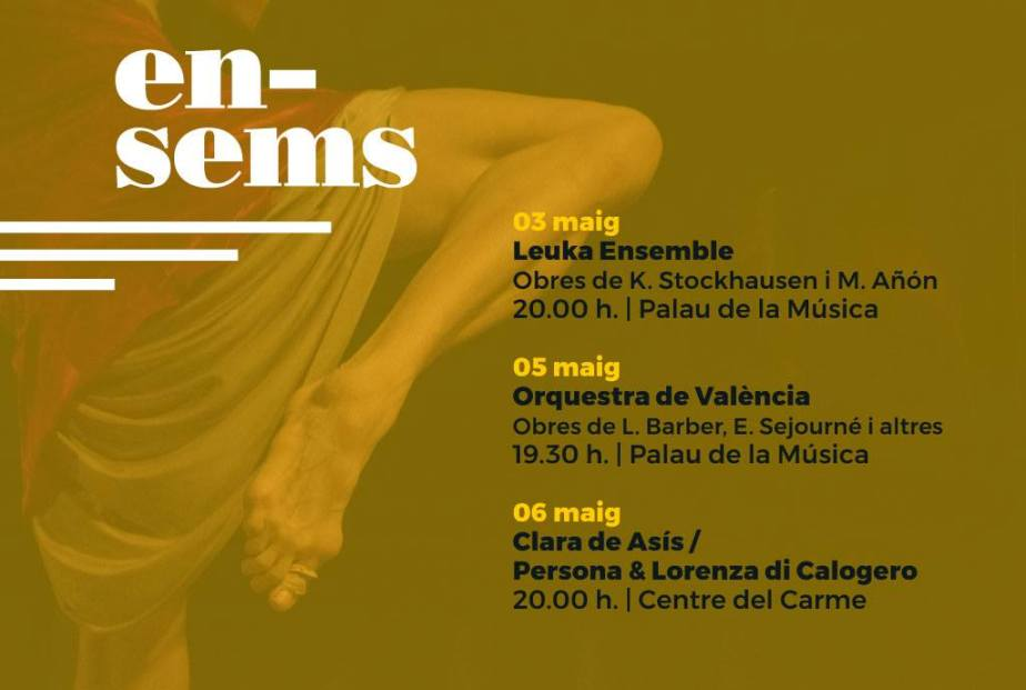 Ensems festival / art sonor 6 May 2017, Valencia (ES)