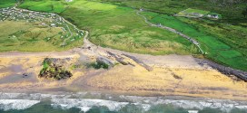 Clare's coastline from the sky