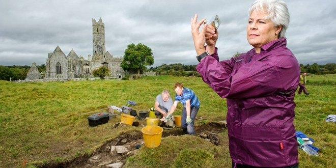 17th century artefact found in Quin friary dig