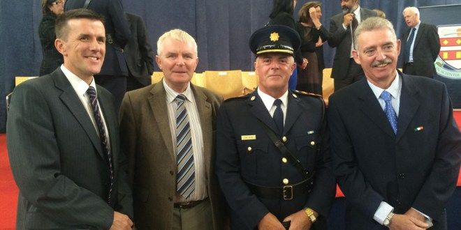 Gardai commended for rescuing family from fire