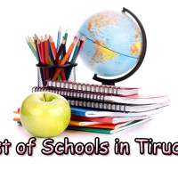 List of Schools in Trichy - Entire School Address