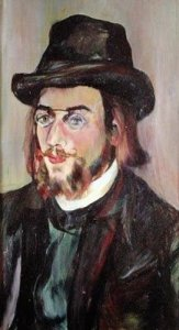 Satie in 1892 by Valadon
