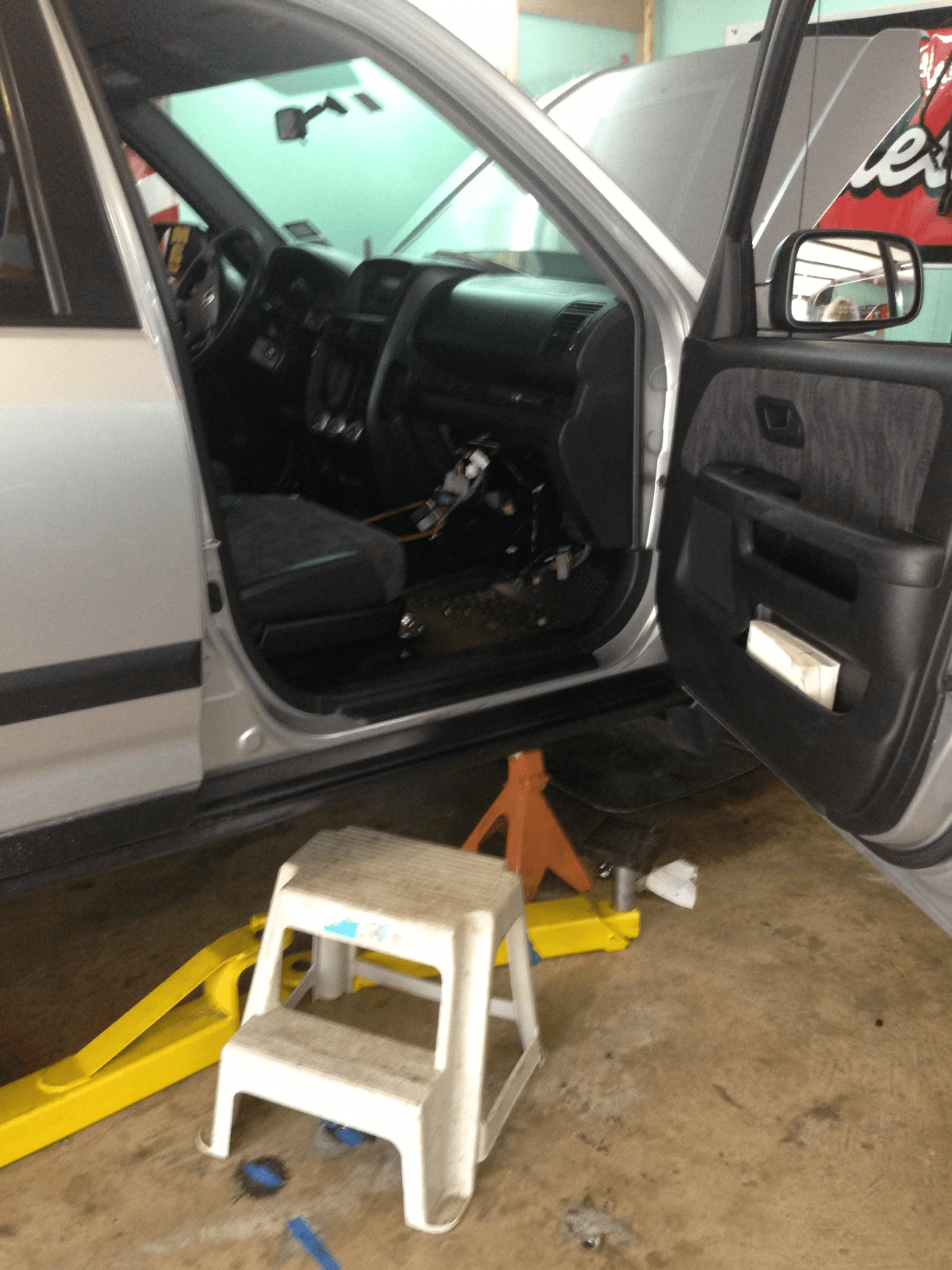 2002 Honda CRV evaporator/expansion valve installation | Classic Cars and Tools