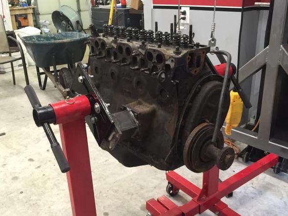 TR engine stand4