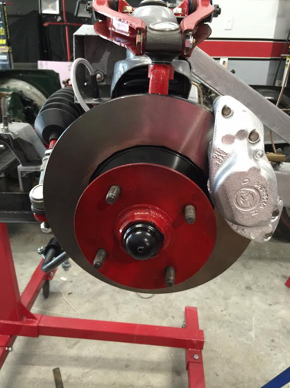 Tr6 front brakes4