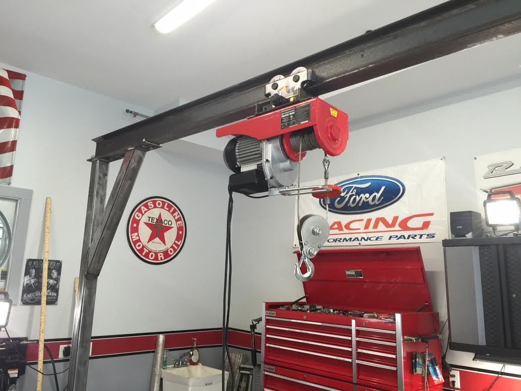 Harbor Freight Gantry Crane >> Homemade Gantry crane | Classic Cars and Tools