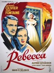 Rebecca (1940) with Joan Fontaine and Laurence Olivier