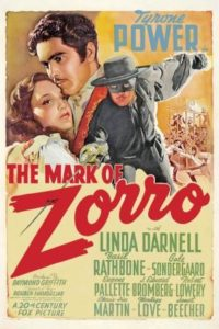 1940 the mark of zorro