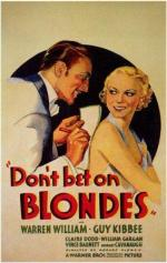 1935 don't bet on blondes