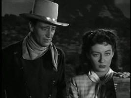 1947 Angel and the Badman John Wayne and Gail Russell 1