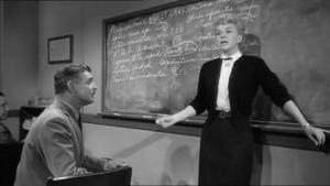 1958 Teacher's Pet Doris Day and Clark Gable