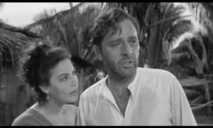 Ava Gardner and Richard Burton in Night of the Iguana