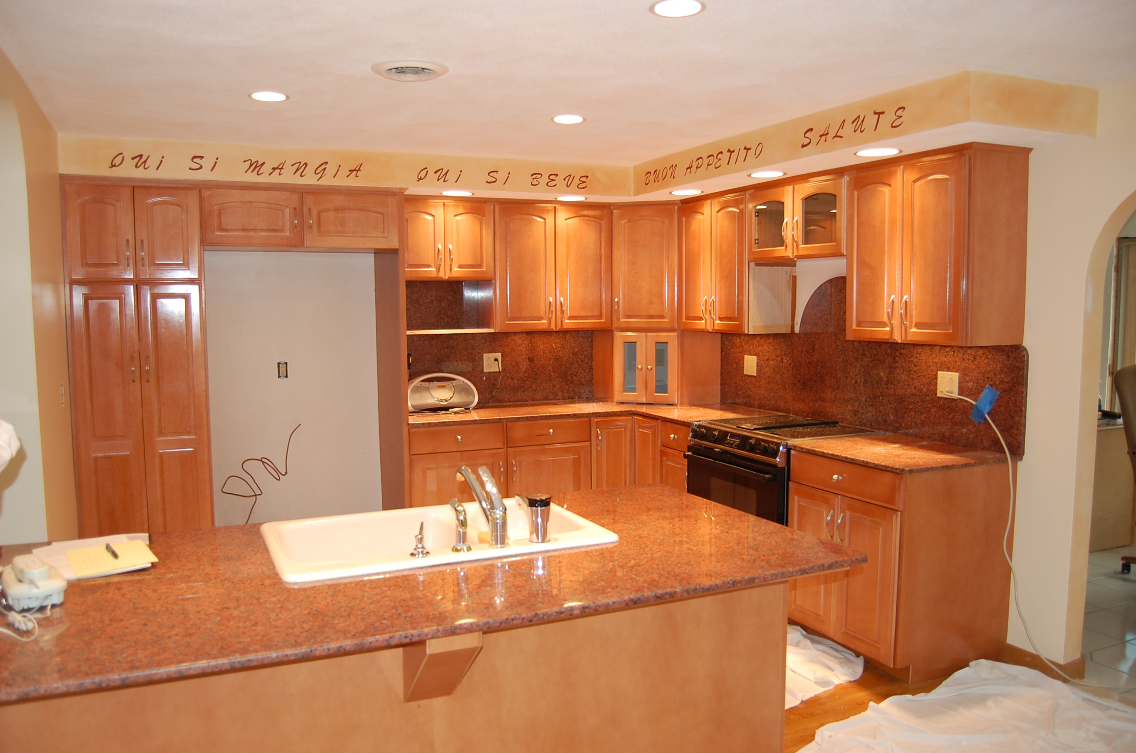 Refacing Process reface kitchen cabinets Cabinet Refacing Photo