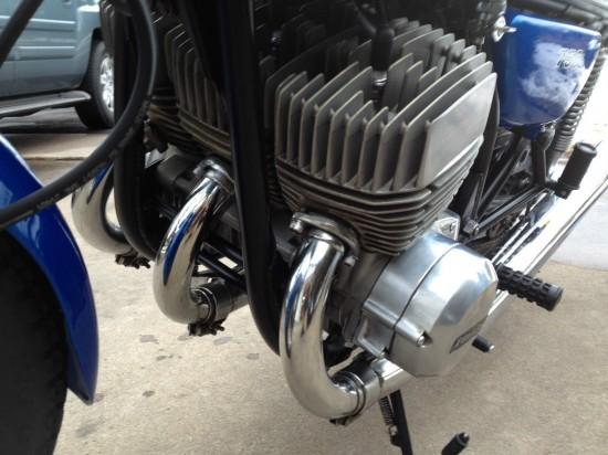 1972 Kawasaki H2 750 Engine Front