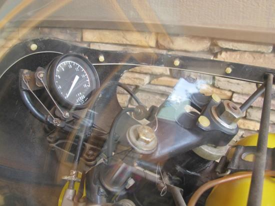 1975 Yamaha TA125 Dash