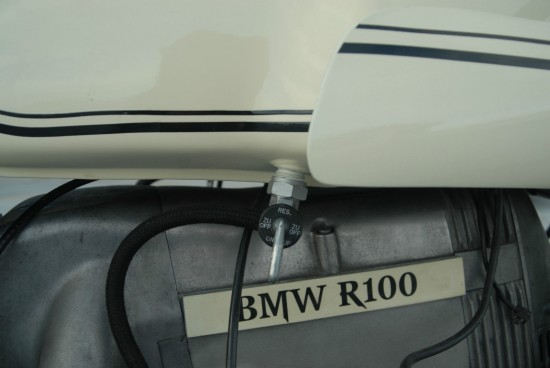 1980 BMW R100 Cafe R Side Petcock