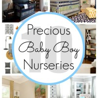 10 Baby Boy Nursery Ideas