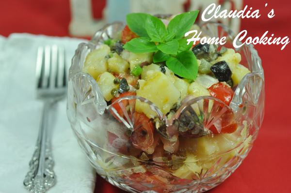 Romanian Potato Salad