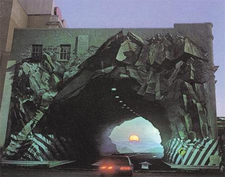 3D Building Art - Building Tunnel