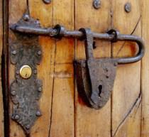Door Lock - Old Lock Image