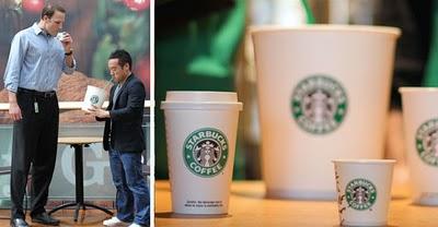 Starbucks Plenta Micra April Fools Sizes