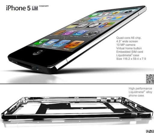 iPhone 5 Design Mockup - LM