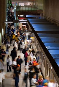 Record Transit Riders in New Economy