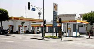Shell hydrogen station in Los Angeles